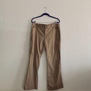Gap Khaki Hip Slung Fit Pants Size 12R